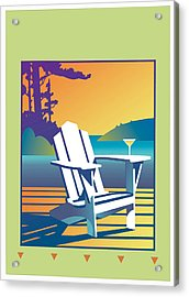 Summer Relax Acrylic Print