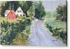 Summer Road Acrylic Print by Joy Nichols