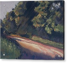 Acrylic Print featuring the pastel Summer Roads by Grace Keown
