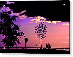 Acrylic Print featuring the photograph Summer Romance by Mike Flynn