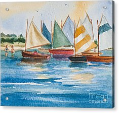 Summer Sail Acrylic Print by Michelle Wiarda