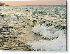 Summer Sea Acrylic Print by Laura Fasulo
