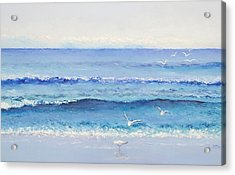Summer Seascape Acrylic Print