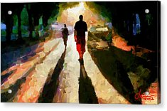 Summer Shadows Tnm Acrylic Print by Vincent DiNovici