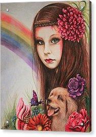 Summer Acrylic Print by Sheena Pike