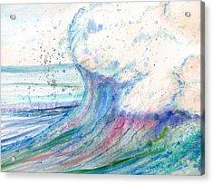Summer Spray Acrylic Print