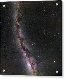 Summer Stars Without Light Pollution Acrylic Print by Eckhard Slawik