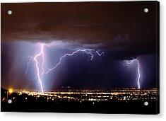 Summer Storm- Albuquerque 2009 Acrylic Print