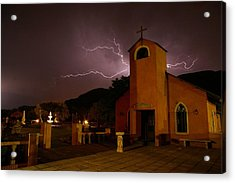 Acrylic Print featuring the photograph Summer Storm by Riana Van Staden