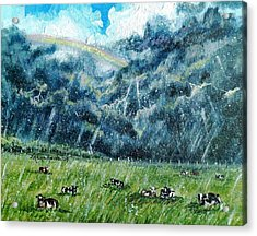 Summer Storm Acrylic Print by Shana Rowe Jackson