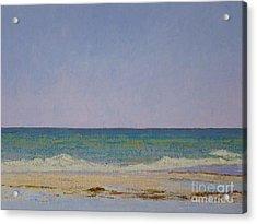 Summer Storm Tidepools Acrylic Print