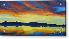 Summer Storms Acrylic Print by Alicia Fowler