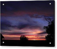 Summer Sunrise In Colorado Acrylic Print