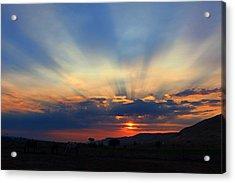 Acrylic Print featuring the photograph Summer Sunrise by Lynn Hopwood