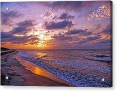 Summer Sunrise On Edisto Island Acrylic Print