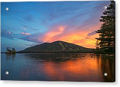 Summer Sunset At Shawnee Peak Acrylic Print