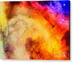 Summer Swirl Acrylic Print by Pixel Chimp