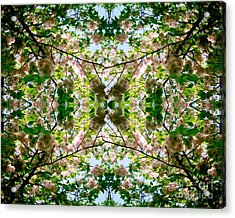Summer Symmetry Acrylic Print