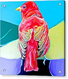 Summer Tanager Acrylic Print