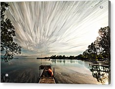Summer Time... Lapse Acrylic Print by Matt Molloy