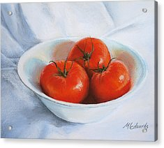 Summer Tomatoes Acrylic Print