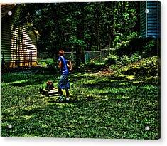 Summer Tyme Spending Money Acrylic Print by Robert Rhoads