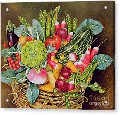 Summer Vegetables Acrylic Print