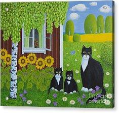 Summer Acrylic Print by Veikko Suikkanen
