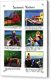 Summer Visitors Acrylic Print