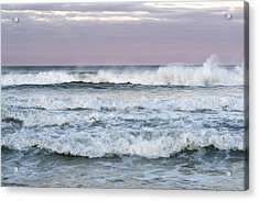 Summer Waves Seaside New Jersey Acrylic Print