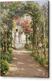 Summer Acrylic Print by William Kay Blacklock