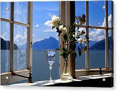 Summer Window-2 Acrylic Print