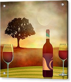 Summer Wine Acrylic Print