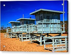Summers Sentinels 2 Acrylic Print by David Doucot