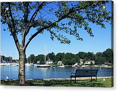 Acrylic Print featuring the photograph Summertime At The Marina by Aurelio Zucco