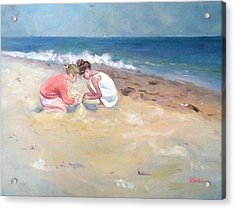 Summertime Acrylic Print by Dorothy Siclare