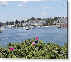 Summertime In Maine Acrylic Print