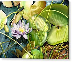 Summertime Acrylic Print by Lyse Anthony