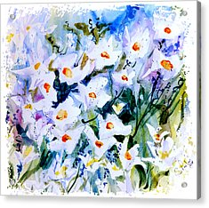 Acrylic Print featuring the painting Summertime by Steven Ponsford