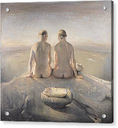 Summit Acrylic Print by Odd Nerdrum