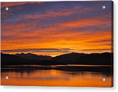 Summit Skies Acrylic Print by Bob Berwyn