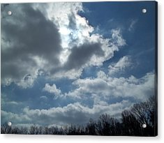 Acrylic Print featuring the photograph Sun Almost by Eric Switzer