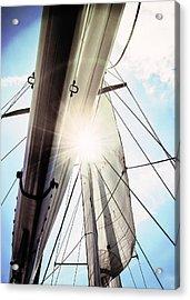 Sun And Sails Acrylic Print
