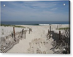 Sun And Sand Acrylic Print by Christiane Schulze Art And Photography