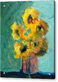 Sun And Shadow Acrylic Print by Nancy Merkle