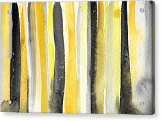 Sun And Shadows- Abstract Painting Acrylic Print