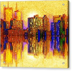 New York Heat Acrylic Print