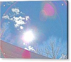 Sun Bow Acrylic Print