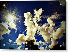Sun Bubbles Acrylic Print