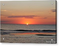 Acrylic Print featuring the photograph Sun Colors by Robert Banach